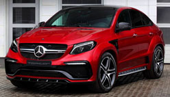 Top Car доработал Mercedes GLE Coupe